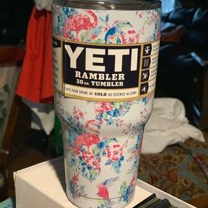 White flamingo yeti summer yeti rambler new 30oz